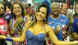 Rainha da 'Baterilha', Tânia Oliveira encara maratona de ensaios em menos de 48 horas