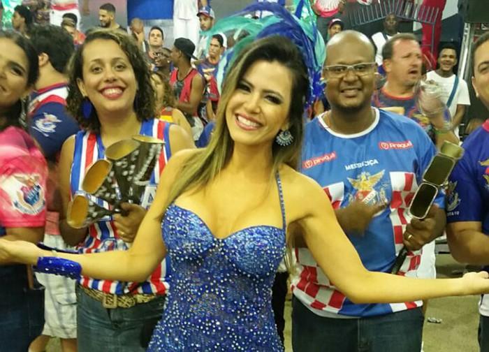 Rainha da Baterilha Tania Oliveira encara maratona de ensaios em menos de 48 horas
