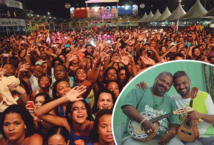 Terreirao do Samba inicia temporada de shows populares