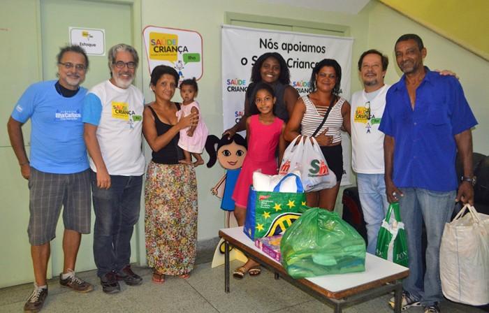 Circuito Ilha Carioca apoia a associacao Saude Crianca Ilha