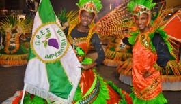Império da Uva é campeã da Série D do Carnaval carioca