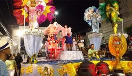 Nação Insulana homenageou 'Tia Surica' da Portela em seu desfile
