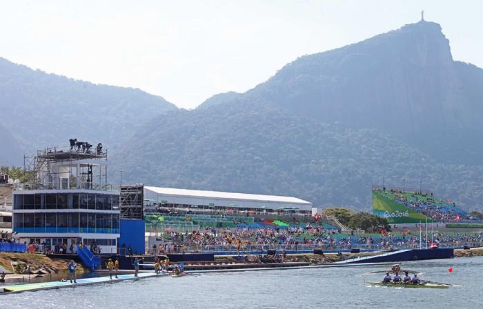 Primeiro dia de competição no Estádio de Remo da Lagoa. Foto: Marcelo Horn
