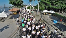 Corrida de rua atraiu mais de mil atletas paras as ruas da Freguesia