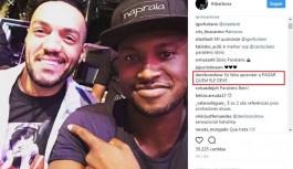 Ex-jogador Denílson cobra dívida de cantor Belo na internet