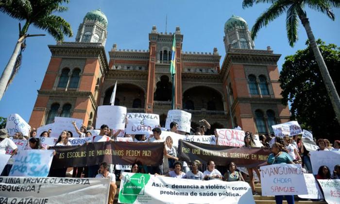 Fiocruz promove ato contra a violencia no Rio