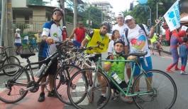 Passeio Ciclístico da ACIG promoveu consciência pelo Autismo