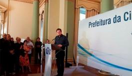 Prefeito apresenta projeto de Municipalização do Porto do Rio