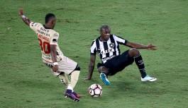 Botafogo perde em casa mas segue com ótimas chances de classificação