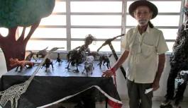 Morre aos 88 anos o 'Velho do Rio', escultor insulano