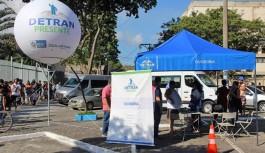 Detran Presente realiza emissão gratuita de habilitação em casos de roubo
